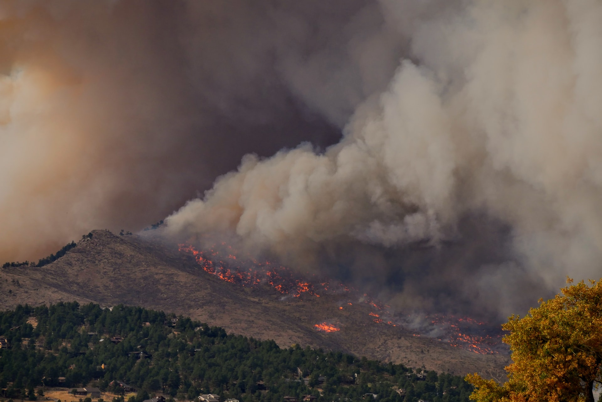 How Wildfires Negatively Impact Air Quality